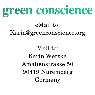 Karin(æ)greenconscience(dot)org