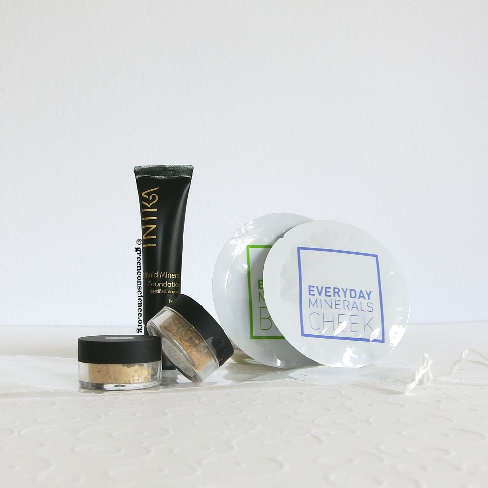 Ecco Verde order september 2014 | mineral makeup trial sizes