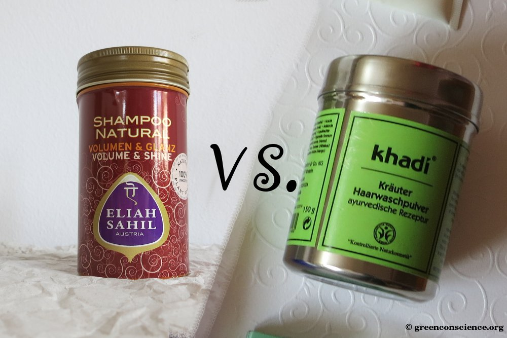 Beauty Battle: Khadi vs. Eliah Sahil | herbal shampoo powder