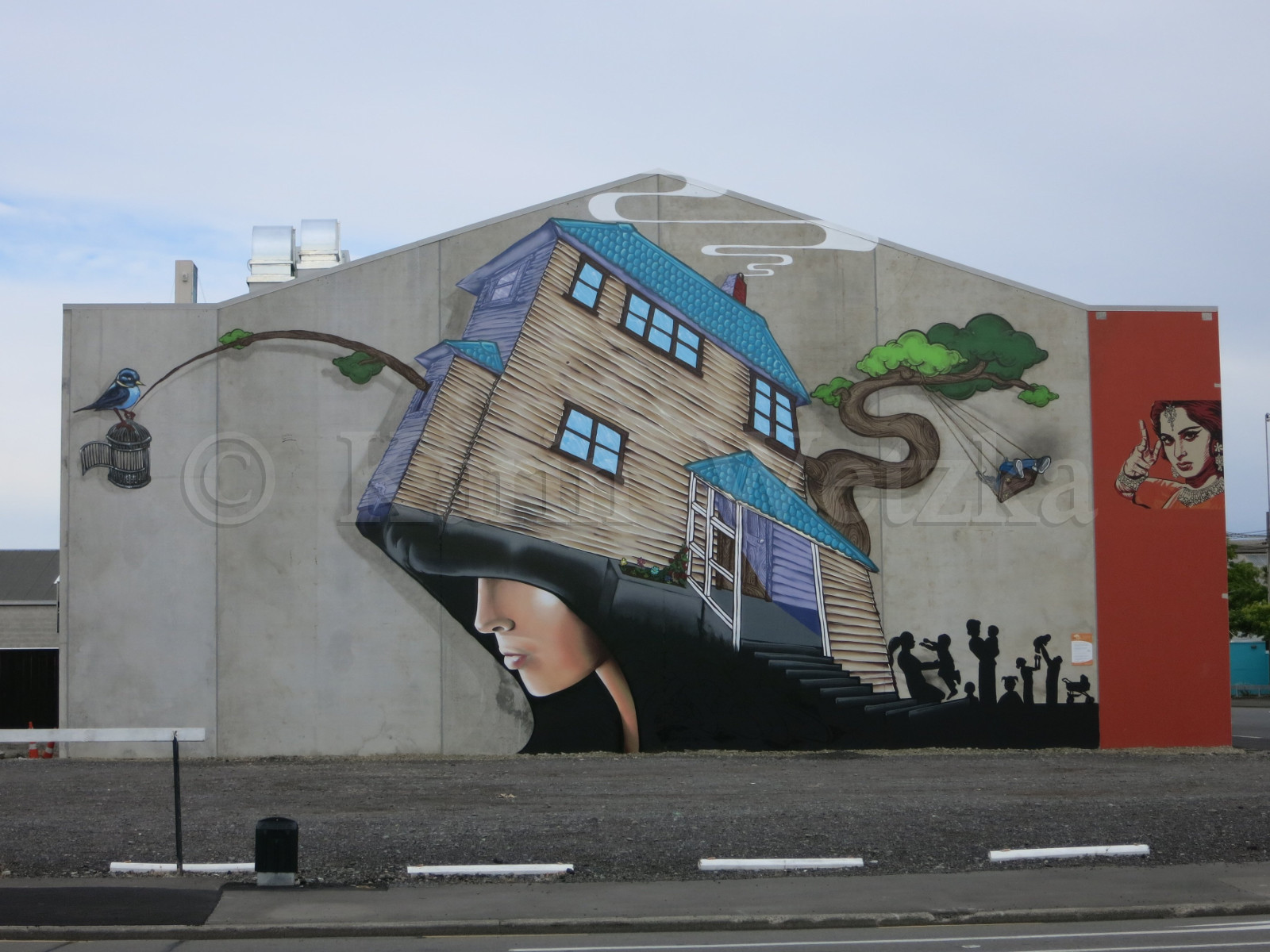 Christchurch Street-Art
