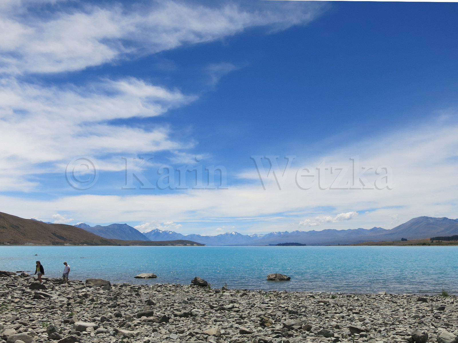 Lake Tekapo with Mountain View