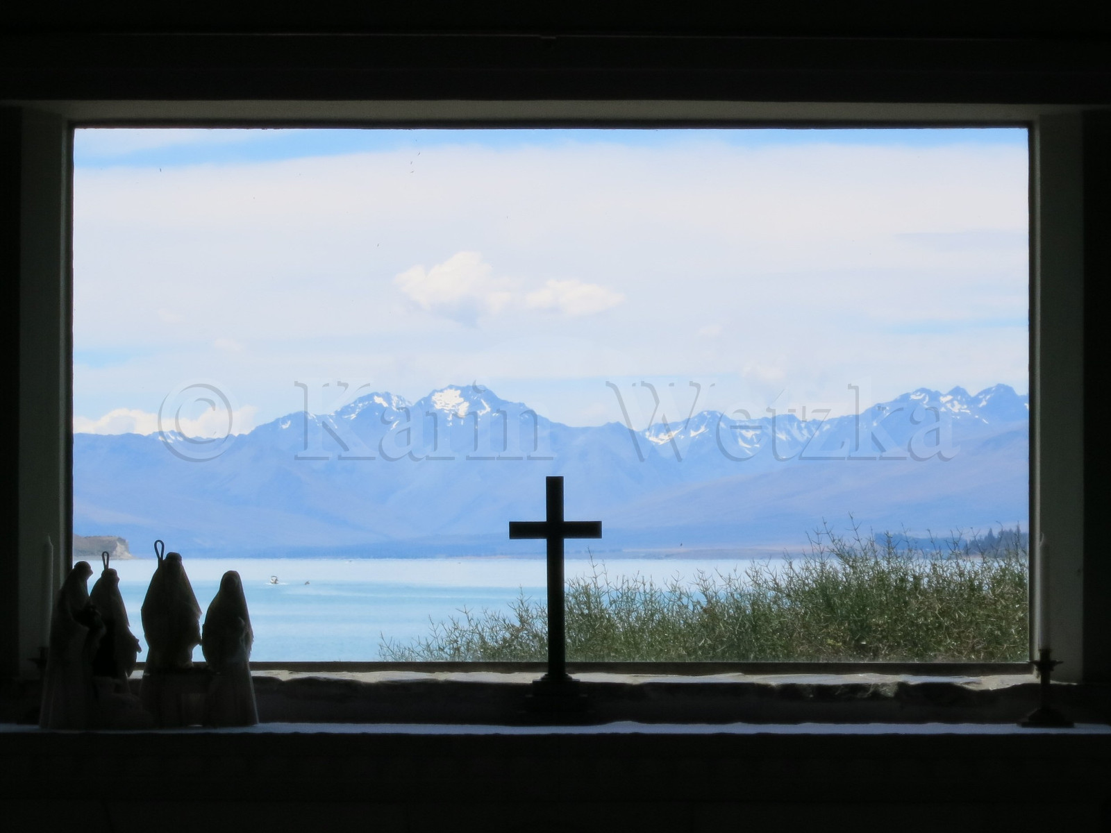 View through Chapel's Window
