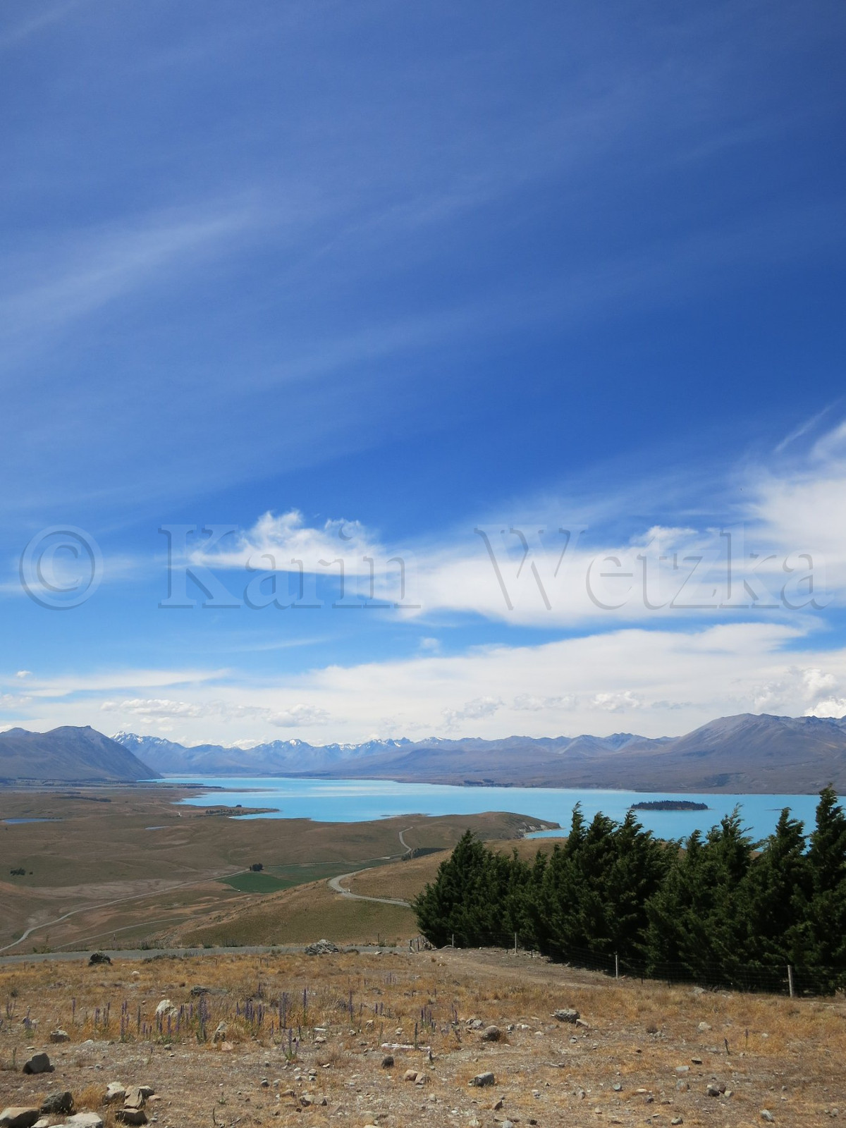 Lake Tekapo, the turquoise blue Lake