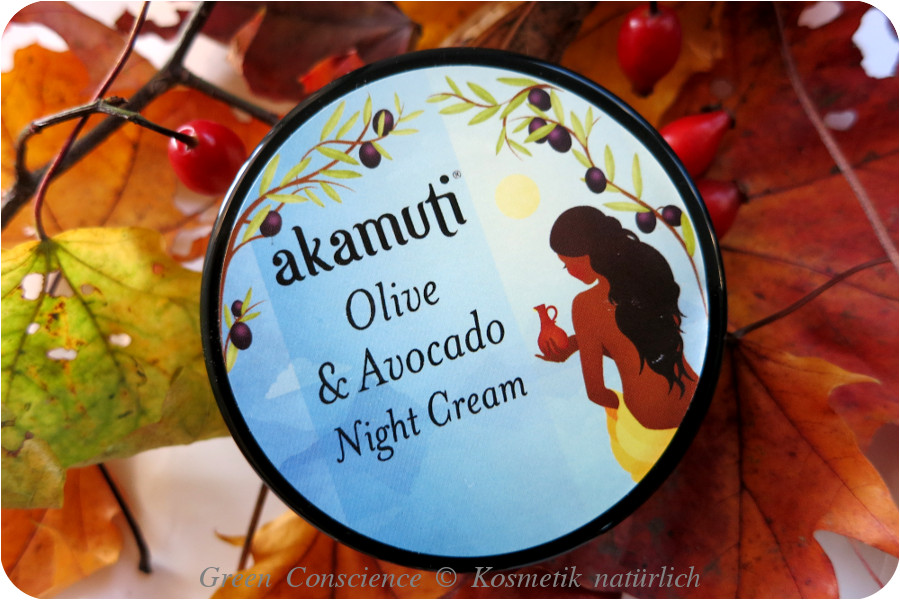 Akamuti Olive Avocado Night Cream